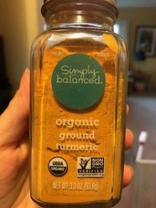 Organic ground turmeric