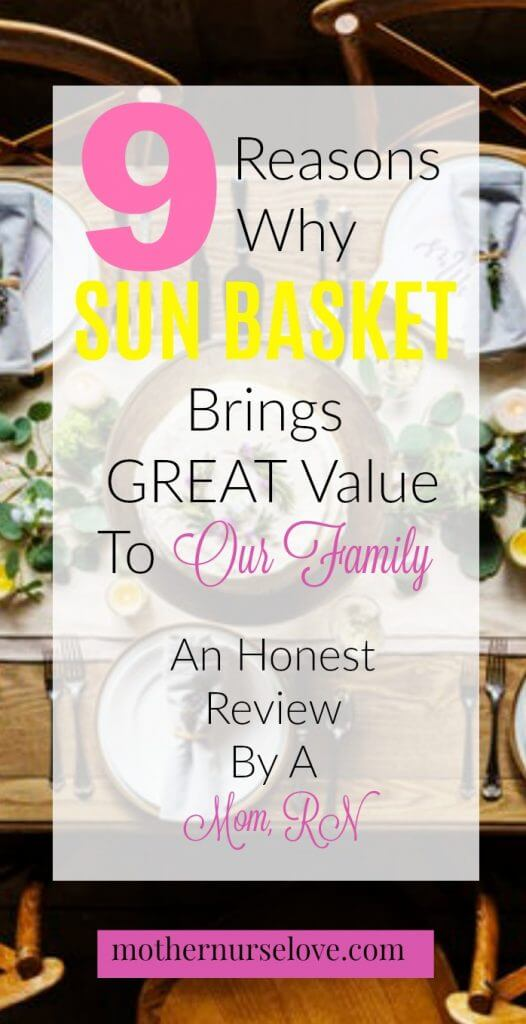 Sun Basket Meal Delivery Review By A Mom, RN